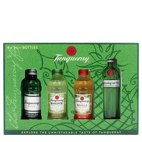 Tanqueray Mix Gin Collection 4 x 5cl