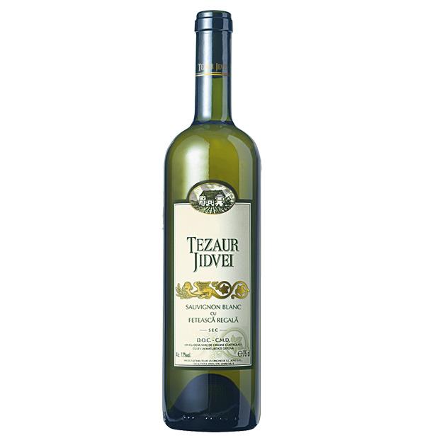 Jidvei Tezaur Sauvignon Blanc & Feteasca Regala 75cl
