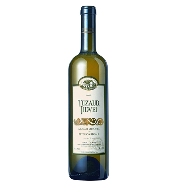 Jidvei Tezaur Muscat Ottonel & Feteasca Regala 75cl