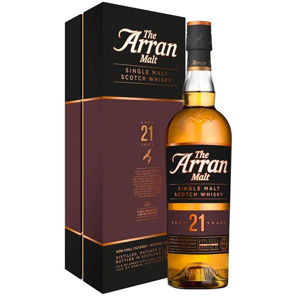 The Arran Malt 21 ani 70cl