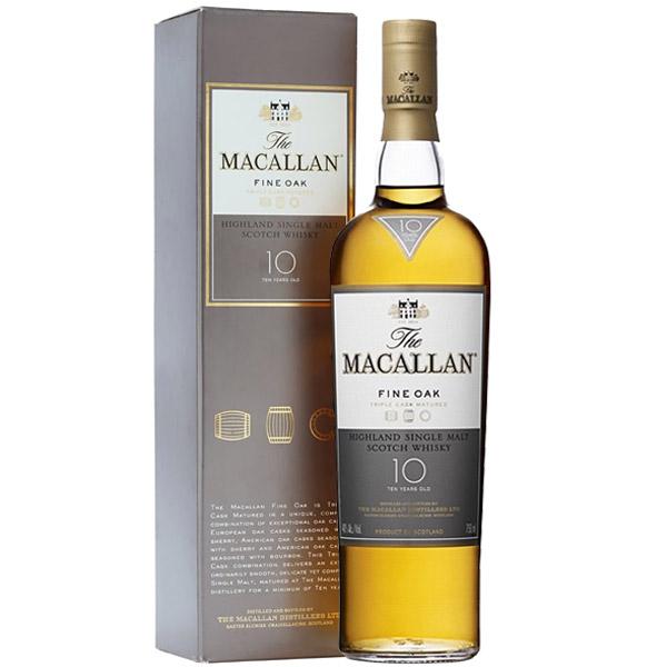 The Macallan 10 ani Fine Oak 70cl