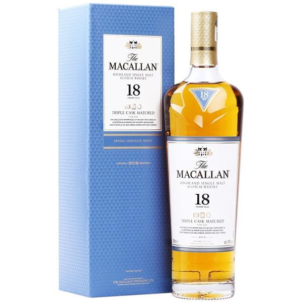 The Macallan 18 ani Triple Cask 70cl