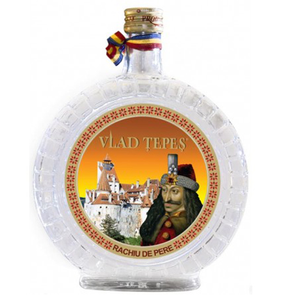 Vlad Tepes Rachiu de Pere 70cl
