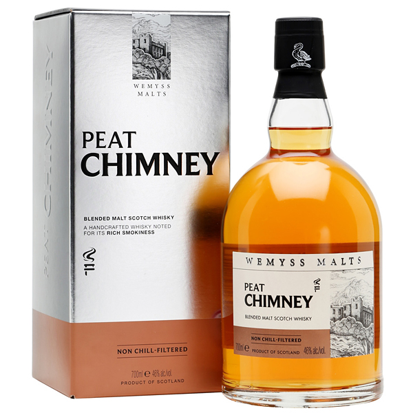 Wemyss Malts Peat Chimney 70cl