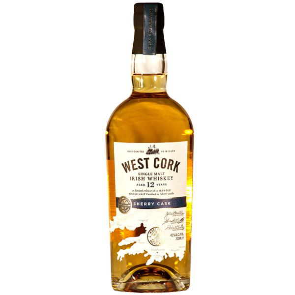 West Cork Sherry Cask 12 ani 70cl